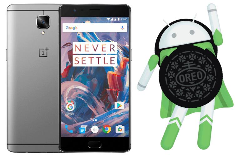 telefony oneplus 3 aktualizace beta android oreo