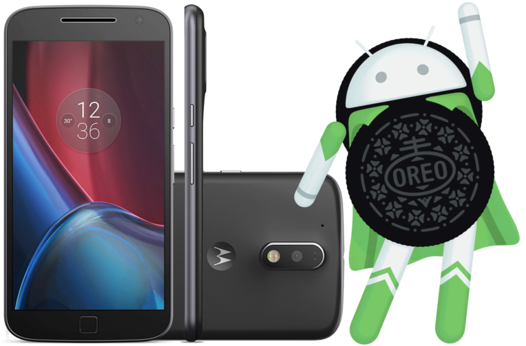 rada moto g4 android 8