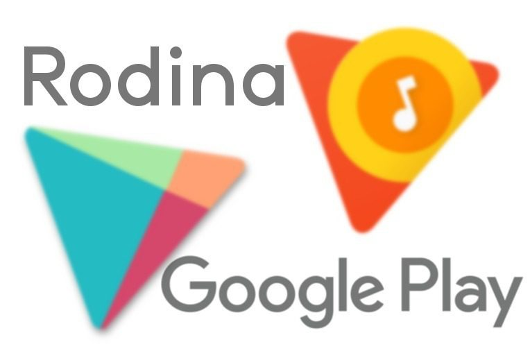rodinna mediateka google play music