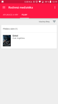 sdileni filmu google play