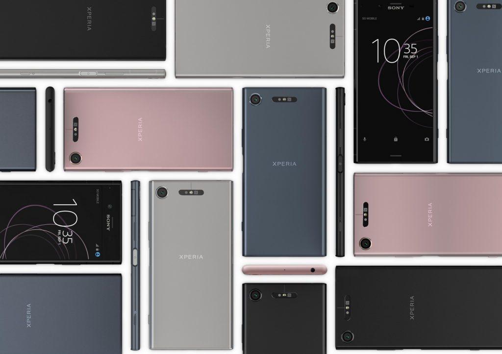 spolecnost sony novy design telefonu