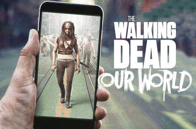 the walking dead our world rozsirena realita hra