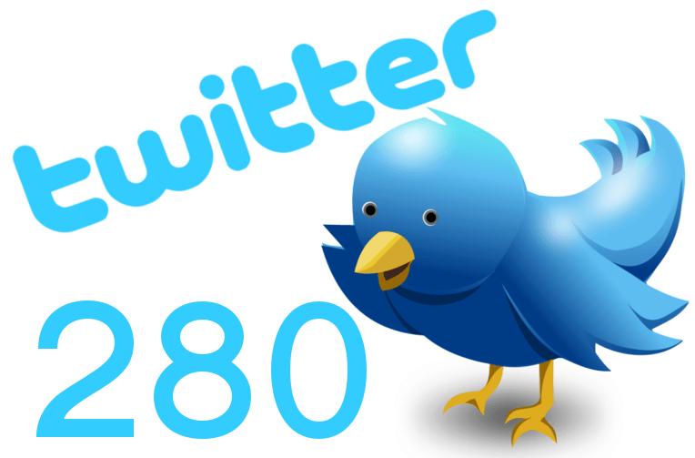 tweety s 280 znaky