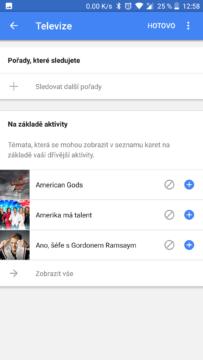 vyhledavani google feed
