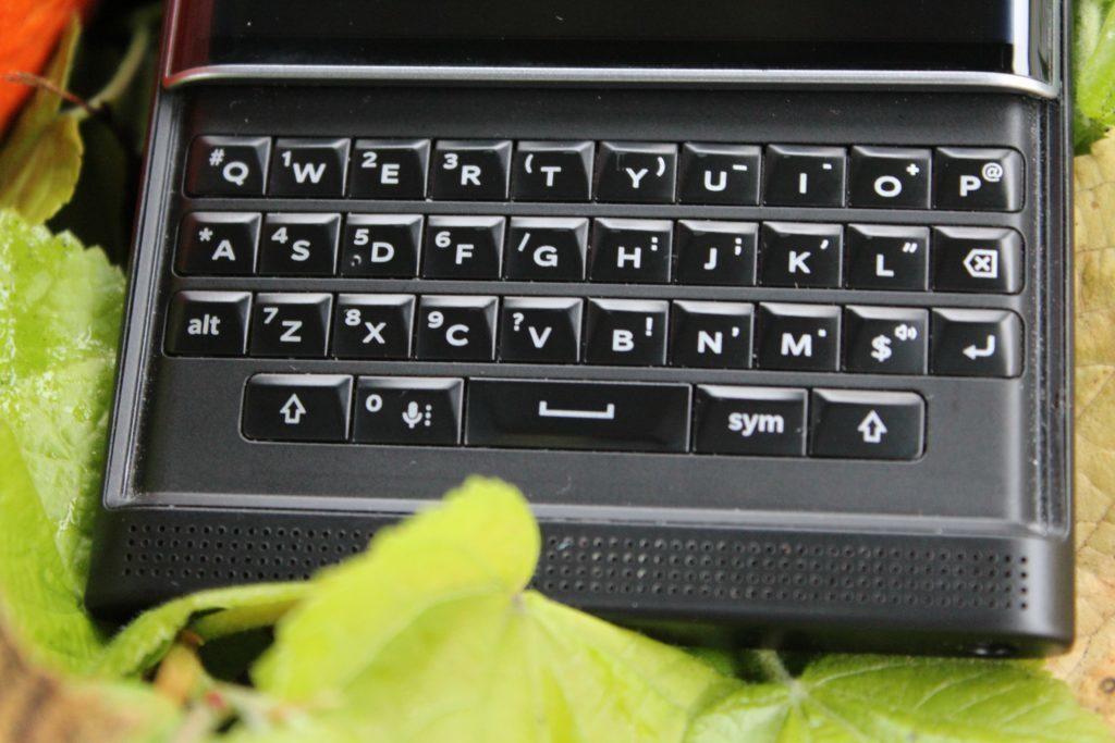 BlackBerry Priv byl výjimečný svou klávesnicí