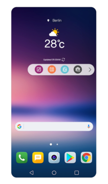 Floating Bar LG V30 1_1