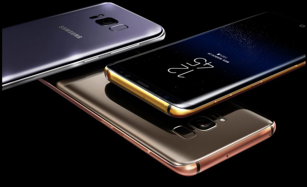 Galaxy S8 v luxusním provedení je nesporně výjimečný mobil
