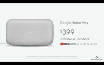 Google Home Max chytry reproduktor