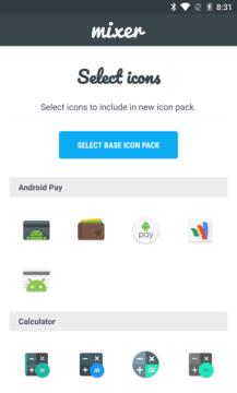 Stačí si vybrat ikony z více balíčků