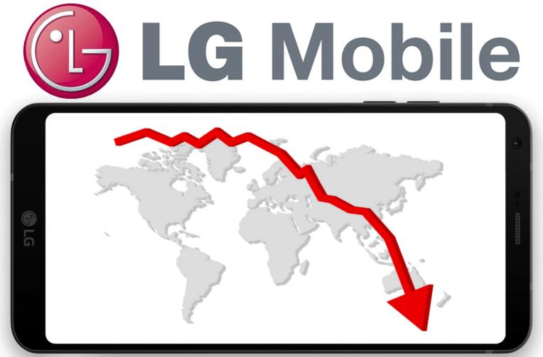 Mobilní divizi LG ztrata