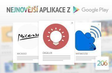 Nejnovější aplikace z Google Play #206: ovládejte jas displeje čtečkou otisků