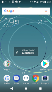 Sony Xperia XZ1 Compact launcher