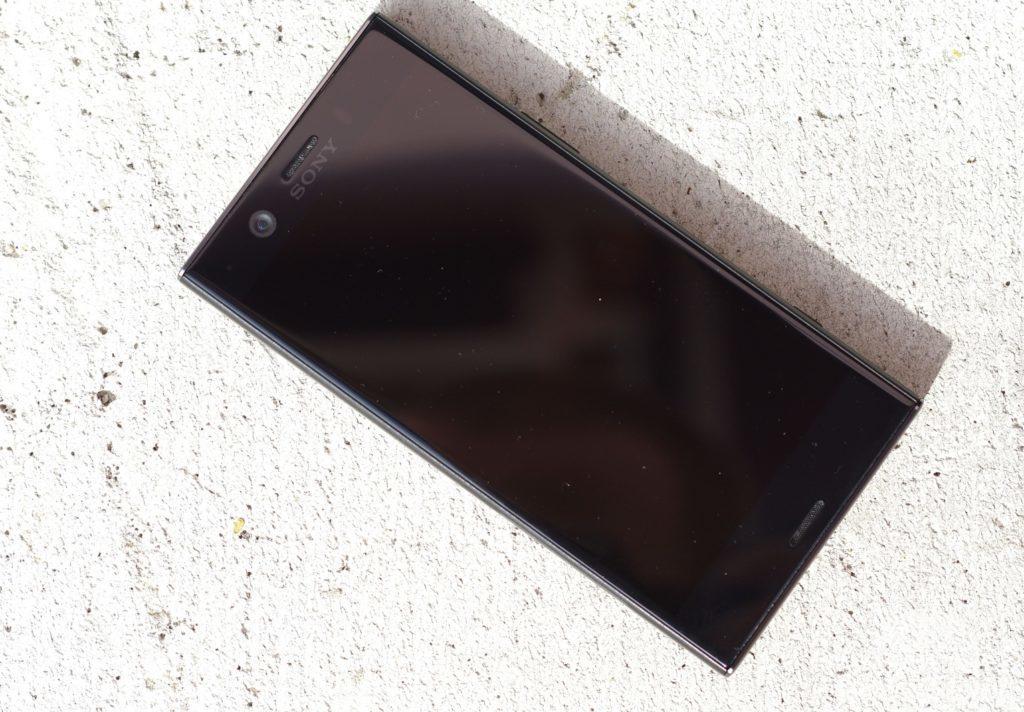 Sony Xperia XZ1 Compact přední strana