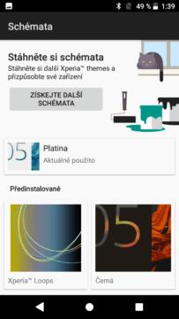 Sony Xperia XZ1 Compact témata