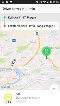 Taxify-taxi v praze-android-1