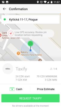 Taxify-taxi v praze-android-2