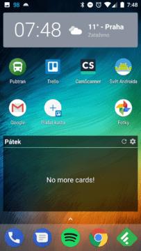 Telefon Xiaomi MI A1-system- domaci obrazovka