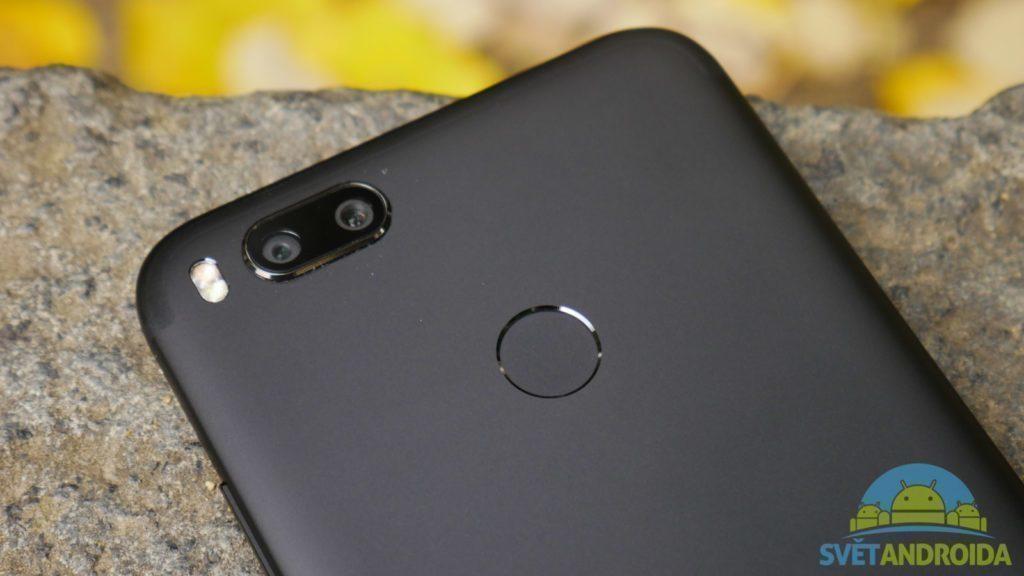Telefon-Xiaomi-Mi-A1-konstrukce-ctecka otisku prstu