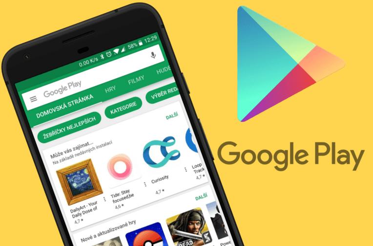 aplikace z google play sleva