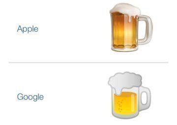emoji ikony pivo problem