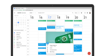 google kalendar material design