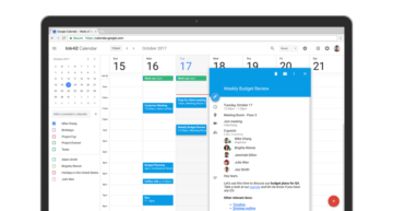 novy vzhled google kalendar