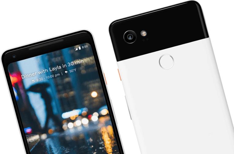 pixel 2 telefony google