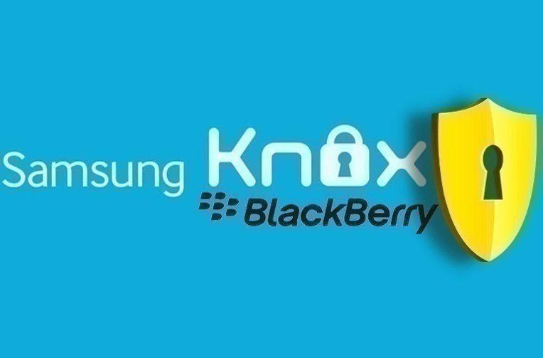 samsung knox telefony blackberry