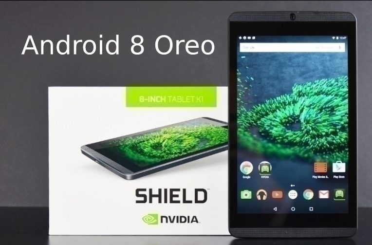 tablet nvidia shield android oreo