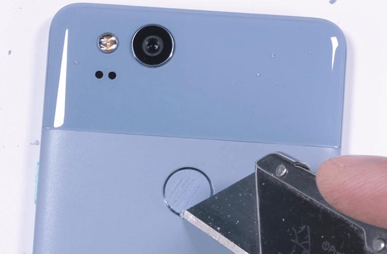 telefon google pixel 2 test odolnosti