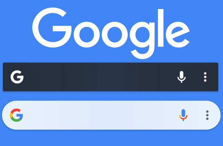 vyhledavaci widget google upravy