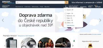 Amazon v Češtině (2)