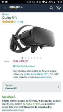 Android amazon v češtině (3)