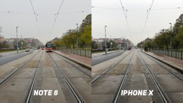 Foto test Samsung Galaxy Note8 vs. Apple iPhone X-cesta-1