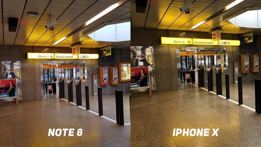 Foto test Samsung Galaxy Note8 vs. Apple iPhone X-metro-1
