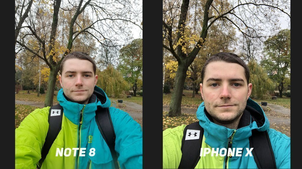 Foto test Samsung Galaxy Note8 vs. Apple iPhone X-predni kamera-1