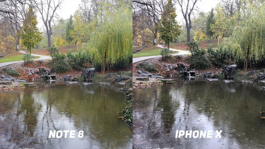 Foto test Samsung Galaxy Note8 vs. Apple iPhone X-priroda-1