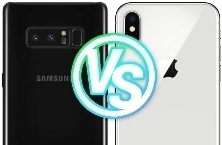 Foto test Samsung Galaxy Note8 vs. Apple iPhone X