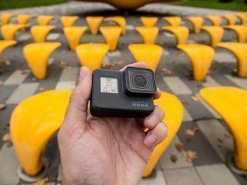 GoPro Hero6 objektiv