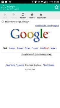 Google v roce 2005