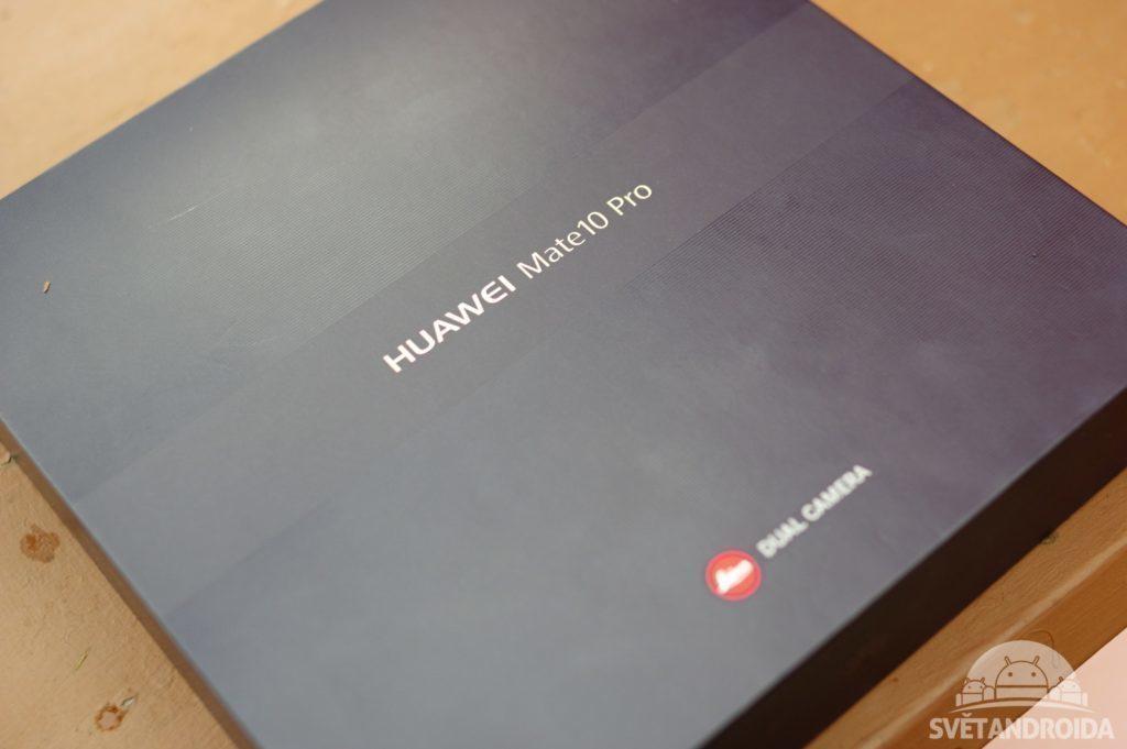 Huawei Mate 10 Pro balení 1