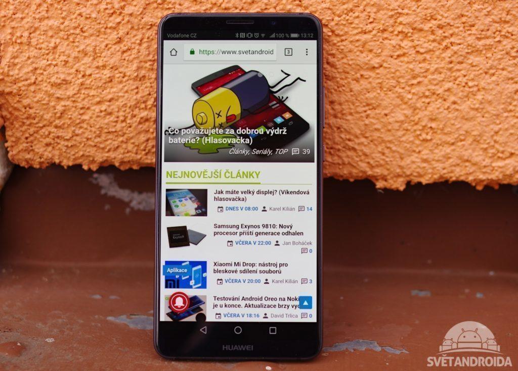 Huawei Mate 10 Pro displej