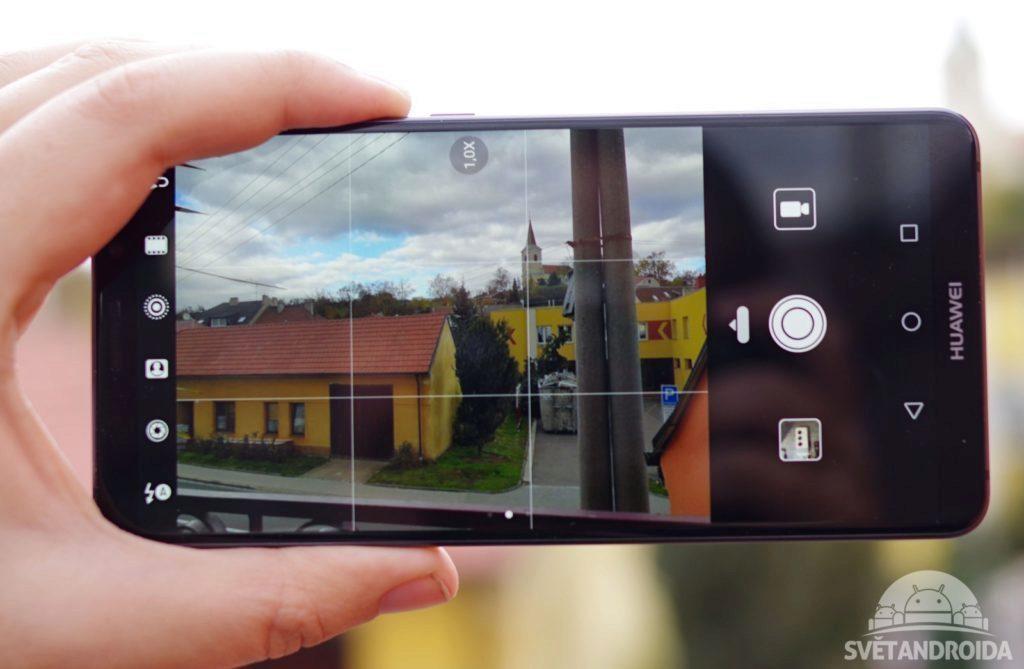 Huawei Mate 10 Pro fotoaparát