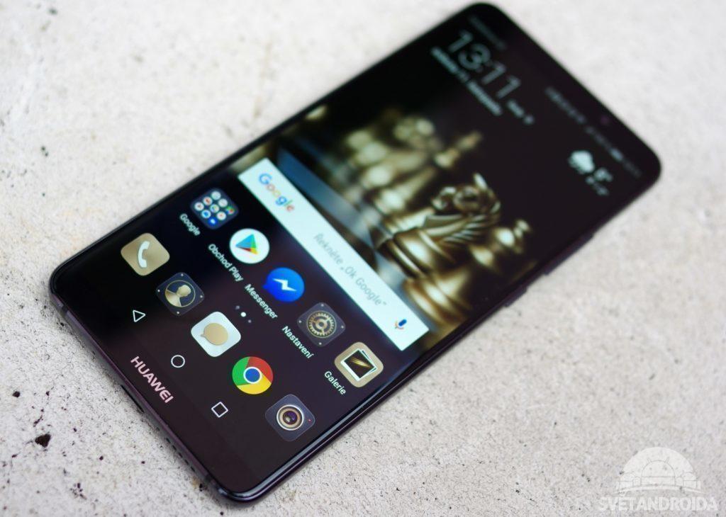 Huawei Mate 10 Pro přední strana