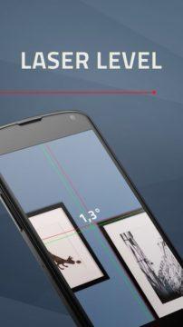 Aplikace Laser Level