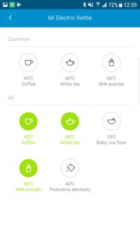 MiHome Xiaomi rychlovarna konvice