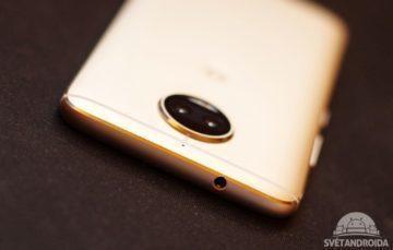 Motorola Moto G5S Plus 3,5mm konektor