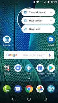 Motorola Moto G5S Plus launcher