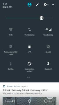 Motorola Moto G5S Plus přepínače