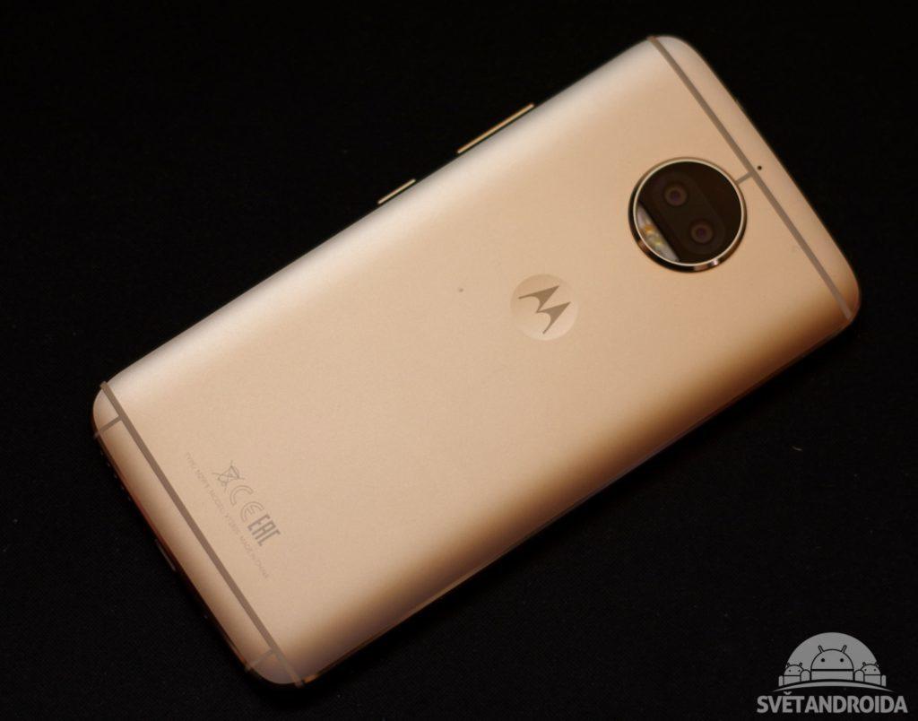 Motorola Moto G5S Plus záda 3